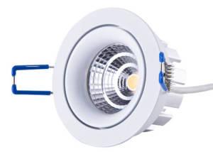 8W LED downlight 35degree 45 degree