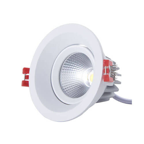 8W LED downlight SHARP COB 75 degree