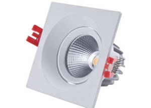 Square LED downlights 13W